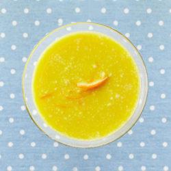 Podzimní šťáva z pomeranče a dýně