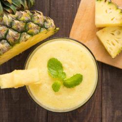 Ananasový koktejl pro posílení imunity